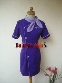Baju Seragam SPG Kazel front