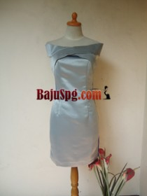 Baju Seragam SPG Perfection Silver front