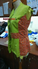 Jasa Jahit Seragam Baju Terapis Batik  Batik Jakarta