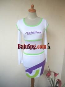 Baju Seragam SPG Achilles Umbrella Girl front