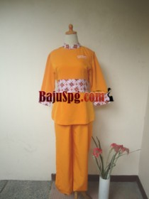 Baju Seragam SPG Szava Skin Clinic front