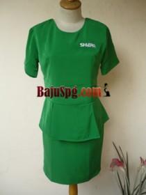 Baju Seragam SPG Shera front