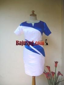 Baju Seragam SPG Putih Arie front