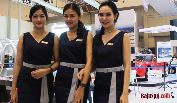 Baju SPG Mandiri Event Giass 2017, KOnveksi Seragam SPG, Konveksi Seragam Jakartam