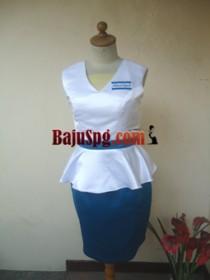 Baju Seragam SPG City Neon front