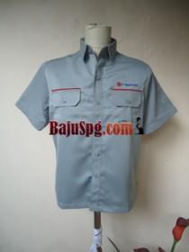 Baju Seragam SPG Lengan Pendek Magna Sardo front