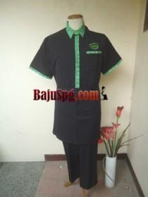 Baju Seragam Waiter Kemang Bistro front