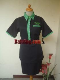 Baju Seragam Waitress Kemang Bistro front