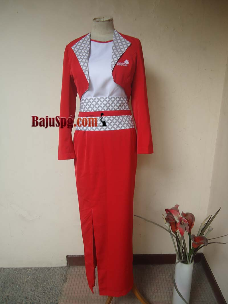 Seragam Baju SPG Telkom Indonesia