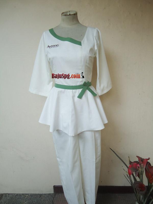 Jasa Jahit Seragam Klinik Aveeno Jakarta Front