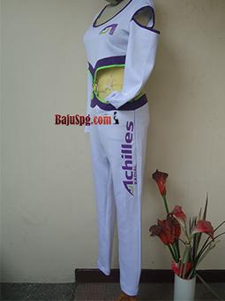 Umbrella Girl Seragam Baju SPG Achilles Samping